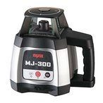 送料無料(沖縄、離島除く) 受光器2個付!マイゾックス 自動整準レーザーレベル MJ-300 (受光器×2個・三脚・クランプ付)