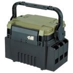 メイホウ VS-7055N タックルボックス グリーンツートン 明邦 ルアーケース システムボックス VERSUS バーサス
