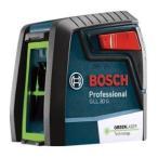 ボッシュ(BOSCH) クロスラインレーザー GLL30G キャリングケース付 グリーン ダイレクトグリーンレーザー採用 水平・垂直