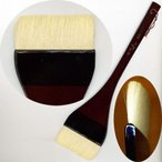 水墨画用品 中里製 塗刷毛 NAHD 25号 (620104) 日本画用品 画筆 絵筆