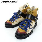 ディースクエアード(DSQUARED2)メンズ ブーツ  マルチカラー系  トレッキングタイプ ボア使い (サイズ/41)*md0116