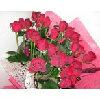 ローテローゼ・赤バラ50本の花束