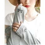 アームカバー UV手袋 レディース 夏 手袋 ロング ショート 指なし 綿 コットン 薄手 涼しい 紫外線 日焼け UVカット 日焼け防止 紫外線対策 ポイント消化 新作