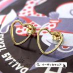 ショッピングハートゴールド ピアス キャッチピアス ハート型 ゴールド レディース アクセサリー イヤーアクセサリー