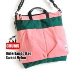 CHUMS チャムス トートバッグ 2WAY ショルダーバッグ メッセンジャーバッグ レディース メンズ 鞄 大容量 A4 大きめ スウェット ナイロン