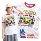 Tシャツ 大きめ バンドTee 半袖 カットソー ロックTee ロックTシャツ レディース トップス Junk Food Tee WH073-9977K/T アスレジャー