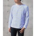カットソー バスクシャツ ボーダー メンズ 男性用 春 トップス シャツ 長袖 大きいサイズ シャツ