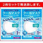 クールマスク 大人用 接触冷感 ひんやり 繰り返し洗える 安心の日本製 2枚セット