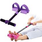 腹筋 マシン 腹筋 筋トレ 器具 シェイプアップトレーナー はね返り防止機付 パープル&ブラック