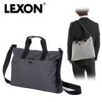 LEXON レクソン ショルダーバッグ トートバッグ ワンドキュメントバッグ LN1414 グレー