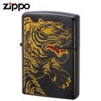 名入れ 対応 zippo 名入れ ジッポー ライター オイルライター ジッポライター 和柄2 龍虎 虎 代引不可 返品不可 送料無料