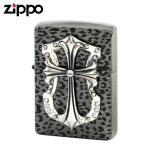 zippo ジッポー ライター クロスオブパンサー シルバー 返品不可 送料無料