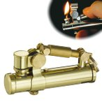 オイルライター スチームパンク かっこいい おしゃれ ミリタリー ビンテージ アンティーク 男性 喫煙具 デューク2 DUKE  ブラス 真鍮 ギフト プレゼント 贈り物