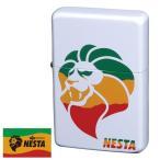 オイルライター NESTA ネスタ ラスタカラー 白塗装&シルク3C DXN-RAS ギフト プレゼント 贈り物  USBライター メンズ Men's  おしゃれ