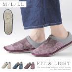 介護シューズ 介護靴 室内用 日本製 スットフィット 室内用 ルームシューズ M-LL ギフト プレゼント 贈り物 ギフト プレゼント 贈り物