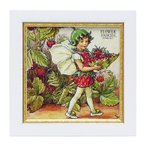 絵画 絵 インテリア 玄関 フラワーフェアリーズ ストロベリーフェアリー FF-02041
