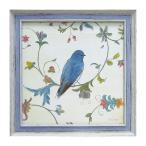 絵画 インテリア 絵 アート フレンチ風 アートフレーム 鳥 バード エミリーアダムス バーズジェム1 ギフト プレゼント 贈り物
