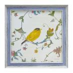 絵画 インテリア 絵 アート フレンチ風 アートフレーム 鳥 バード エミリーアダムス バーズジェム3 EA-05803 ギフト プレゼント 贈り物