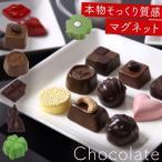 マグネット 冷蔵庫 チョコ バレンタイン チョコ以外 お菓子 かわいい おしゃれ 義理チョコ 友チョコ 大量 まとめ買い おもしろ 個包装 ファクトリーアルルのチョ