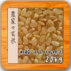 訳あり 米 20kg 玄米 安い 28年産 小分け 10kg×2袋 農家の玄米 調整済み
