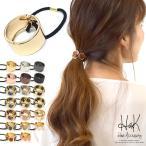 髮飾 - ヘアカフス ヘアリング ヘアゴム メタル マット レディースヘアアアクセサリー