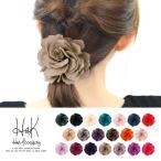 ヘアゴム ヘアポニー レディースヘアアクセサリー 髪飾り バラ ローズモチーフ