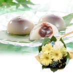 花ギフト スイーツセット つるや製菓 水まんじゅう お菓子 和菓子 花束 ガーベラ カーネーション