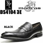 マドラス エムディエル メンズ ビジネス コインローファー madras MODELLO MDL DS4104  ブラック