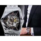 5000円以上送料無料 コグ COGU フルスケルトン 自動巻き 腕時計 BS0TM-BRG 【腕時計 低価格帯ウォッチ】 レビュー投稿で次回使える2000円クーポン全員にプレゼ