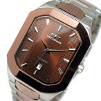5000円以上送料無料 テクノス TECHNOS クオーツ メンズ 腕時計 T9353AA ブラウン 【腕時計 低価格帯ウォッチ】 レビュー投稿で次回使える2000円クーポン全員に