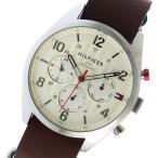10000円以上送料無料 トミーヒルフィガー TOMMY HILFIGER クオーツ メンズ 腕時計 1791188 オフホワイト 【腕時計 海外インポート品】 ..