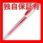レビューで次回2000円オフ 直送 (まとめ) TANOSEE ノック式ゲルインクボールペン(バインダークリップ) 0.5mm 赤 1本 〔×80セット〕 生活用品・インテリア・