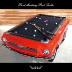 フォード マスタング ビリヤード台 プールテーブル おしゃれ FORD MUSTANG 1965 GT350H アメ車 新品 カマロ コルベット 米国 エイトボール