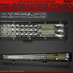 LED ライトバー 作業灯 73cm 396W TRI-ROW ハイパーコンボ 29インチ 19800lm 12V 24V 48V 防水IP67 P-525