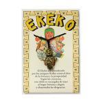 エケコデラックス 南米雑貨 ペルー雑貨  真鍮エケコ人形 チャーム ストラップ