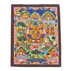 曼荼羅Life of Buddha 仏陀の一生  ネパール仏画 ネパール美術 仏教アート