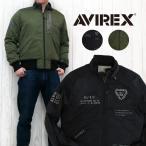 AVIREX アビレックス NEW YEAR ITEM コプター クルー ジャケット フライト ステンシルプリント ミリタリー