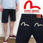 ショッピングEVISU EVISU×WAREHOUSE SHORTS ショートパンツ ハーフパンツ カモメマーク ペンキ デニム 日本製 エビス エヴィス evisu2000-no2sp