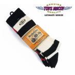 高袜 - トイズマッコイ TOYS McCOY BECK ブーツ ソックス ボーダー 3本パック 3 PACK BOOTS BORDER SOCKS tma1727