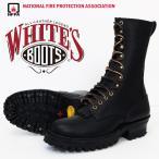 "WHITE'S BOOTS ホワイツ スモークジャンパー SMOKE JUMPER 10インチ NFPA仕様 ブラック Eワイズ ワークブーツ ""whites-smoke-jumper-nfpa"""