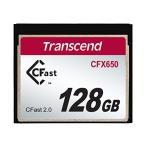 Transcend Cfast 2.0 カード 128GB (3年保証) TS128GCFX650
