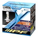 IPF LED ヘッドランプバルブ 6500K H4タイプ 341HLB