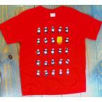 二十四式太極拳パンダTシャツ・大人用(赤色)  【北京製→上海製】