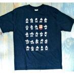 二十四式太極拳パンダTシャツ・大人用(黒色)  【北京製→上海製】