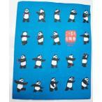 二十四式太極拳パンダTシャツ・大人用(青色=新色)  【北京製→上海製】