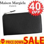 メゾン マルジェラ 財布 長財布 MAISON MARGIELA S35UI0415 PORTAFOGLI 900 BLACK SY1140 比較対照価格 84,240 円