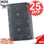 エムシーエム キーケース MCM CLAUS MXK6AVI34 3 FOLD KEY WALLET BK001 BLACK 比較対照価格 24,840 円
