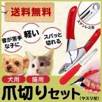 ペット 爪切り つめ切り 犬 猫 ギロチンタイプ ヤスリ付き 送料無料