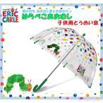 EricCarle(エリックカール) はらぺこあおむし  子供用 透明傘 ドット柄