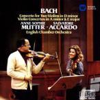 ムター&アッカルド/バッハ:2つのヴァイオリンのための協奏曲 他